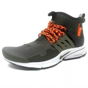 Nike Air Presto Mid Utility Cargo Mens Sneakers